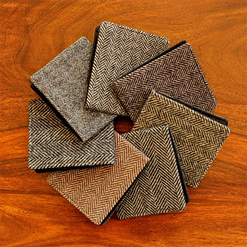 Recycled Tweed Coat Wallets | Extrove.com