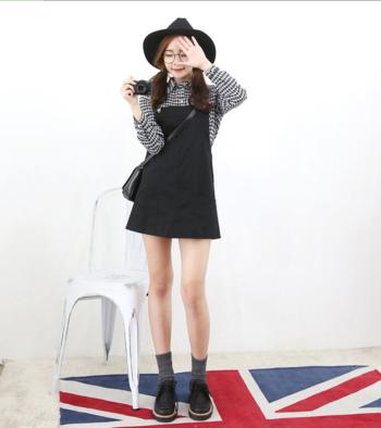 Pocket-Front Mini #Jumper #Dress