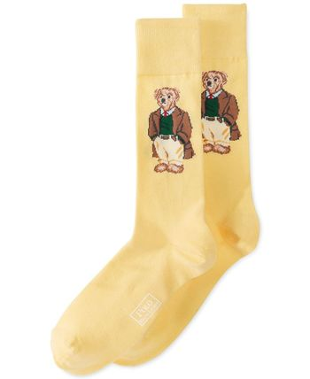 Polo Ralph Lauren Bear Socks - Underwear - Men - Macy's