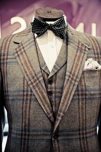 Huntsman tweed suit: Part 1 - Permanent Style