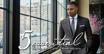 5 Essential Spring Suit Color Combinations - The Compass