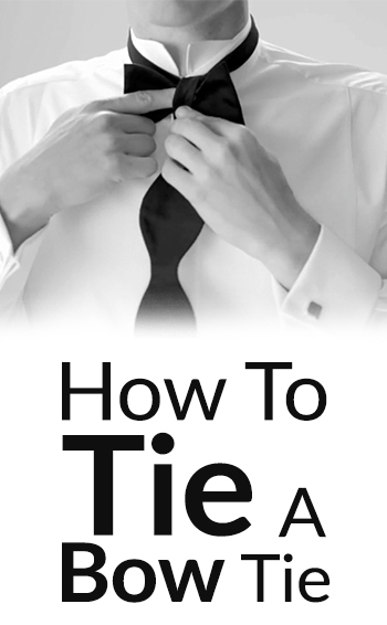 How To Tie A Bow Tie | Self-Tying A BowTie | Bow-Tie Knots in 10 Steps