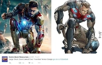 Judge Throws Out 'Iron Man' Armor Copyright Claims