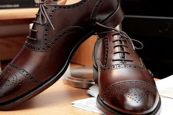 Crockett and Jones leather dress shoes #alifewellsuited