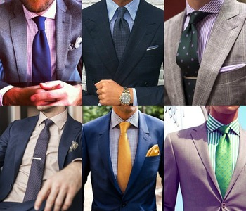 Easy Guide On Dress Shirt and Tie Color Combinations   Royal Fashionist