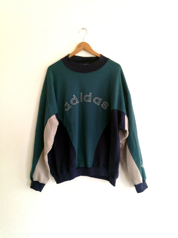 Vintage ADIDAS Men's Crewneck Sweater