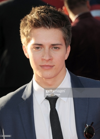 Actor Billy Unger arrives for the Premiere Of Marvel's 'Avengers Age...