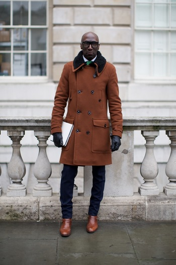 Street Style at London Fashion Week. Photographs by Marcus Dawes for LFW The Daily, (www.marcusdawes.