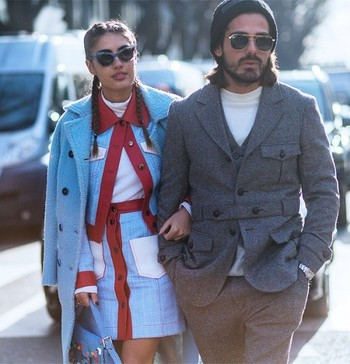 The Freshest Street Looks From Men's Fashion Week