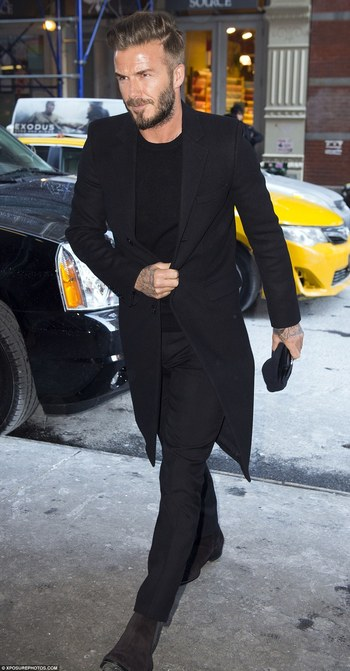 Brooklyn Beckham carries sleepy Harper home after Victoria's NYFW show