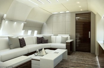 Inside the private jets of the future
