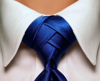 Pre Tied Eldredge Tie Knot 100% Polyester Pre Knotted Necktie Knot