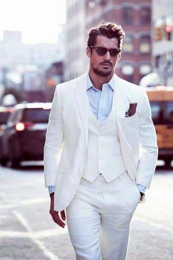 white linen suit - Google Search