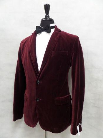 Men's Zara Red Smoking Dinner Suit Jacket 42R MV7724