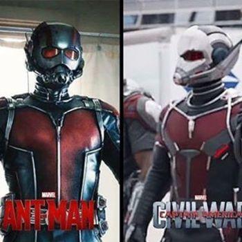 """Daniel Matamoros on Instagram: """"Algo me dice que este no es el traje de #Antman, sino más bien #Giantman. #CACW  #TeamCap"""""""