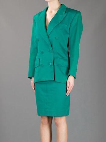 Yves Saint Laurent Vintage Skirt Suit - A.n.g.e.l.o Vintage - Farfetch.com