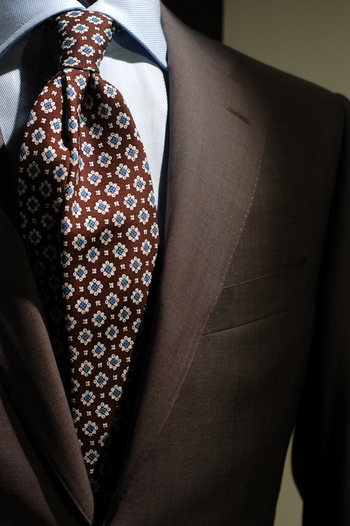 hoyerluxuryman: Canali light brown suit for summer.