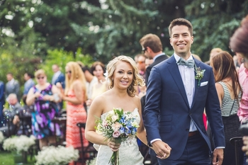 courtney + scott { calgary zoo summer wedding }