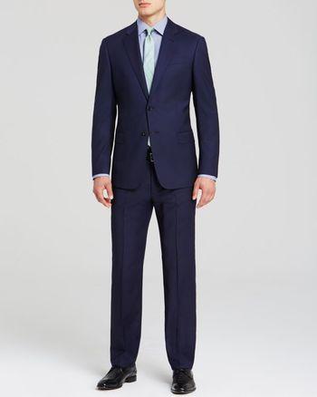 Armani Collezioni Lined Suit - Classic Fit | Bloomingdale's