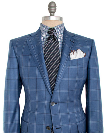 Blue Windowpane Sportcoat