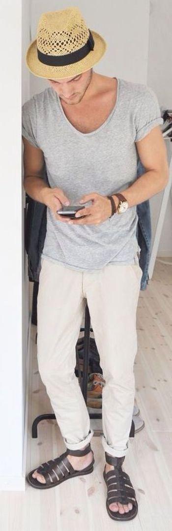 Sandalias masculinas (4) –