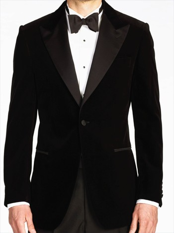 Black Velvet Dinner Jacket - Gieves & Hawkes
