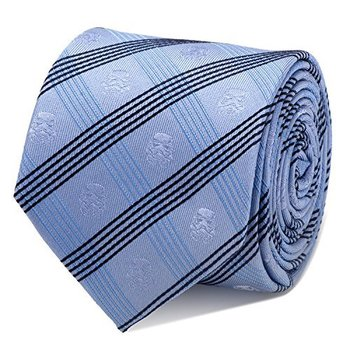 Star Wars Stormtrooper Blue Plaid Tie | shopswell