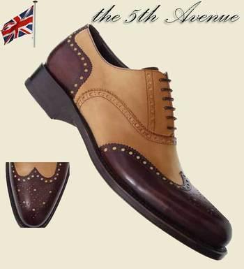 the Ambassador custom made shoes handmade Oxfords by adler nyc usa