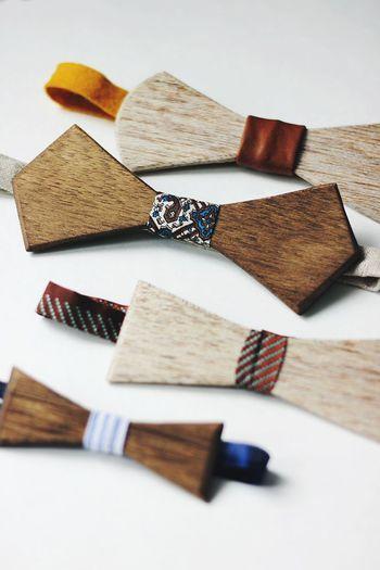 DIY Wooden Bow Tie
