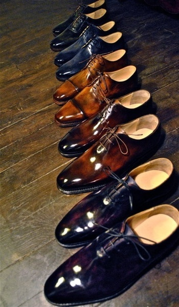 A mans shoe collection can tell you