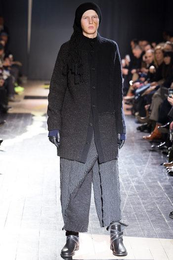 Yohji Yamamoto Fall 2015 Menswear - Collection
