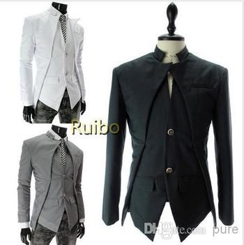 White/Grey/Black Slim Fit Men'S Fashion Blazer Innovative Two Button Unique Handsome Tuxedo Jackets Men Suit Dropshipping Hot Mens Jacket With Hood Nice Mens Coats From Pure, $39.8| Dhgate.Com