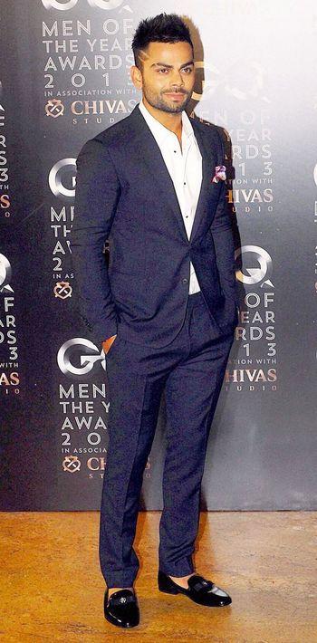 Cricketer Virat Kohli attended the GQ Men