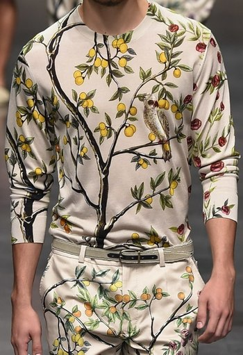PRINTS, PATTERNS, TEXTURES AND TEXTILE SURFACES FROM MENSWEAR S/S 2016 COLLECTIONS / MILANO CATWALKS 2