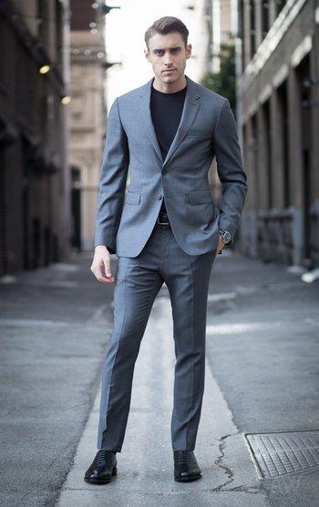 The Gray Notch Lapel Suit