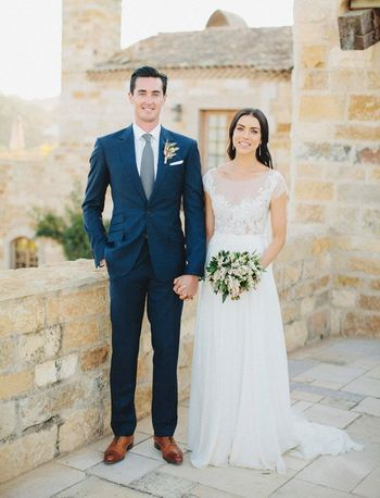 Tuscan-Inspired Wedding at Sunstone Winery: Heather + Cheyne
