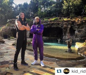 Rob Gronkowski and Odell Beckham Jr. Are Having a Jumpsuit Party at Drake's House