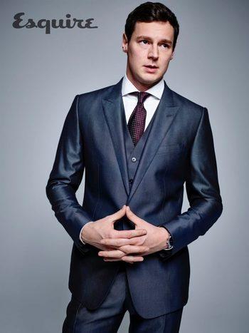 American Psycho Star Benjamin Walker Suits Up for Esquire