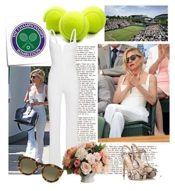 Sienna Miller at Wimbledon 2015