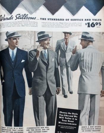 1930s Men's Suits History