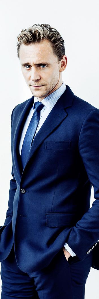 Tom Hiddleston by Rob Greig - Time
