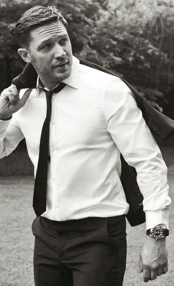 damn.... Tom Hardy... the cat's meow right there.