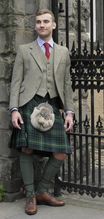 Nicolson Tweed Kilt Hire Outfit - Tweed - Hire Outfits