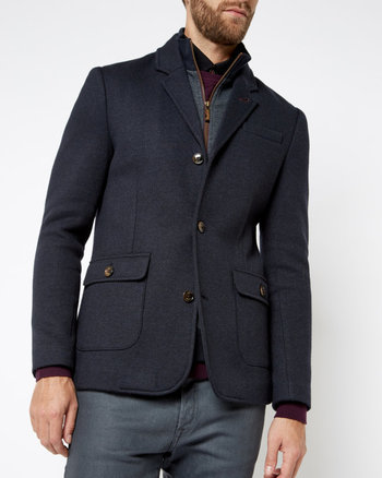 Two-in-one jacket - Navy | Tops & T-shirts