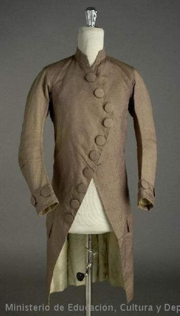 Jacket, c. 1775-85, Spanish.
