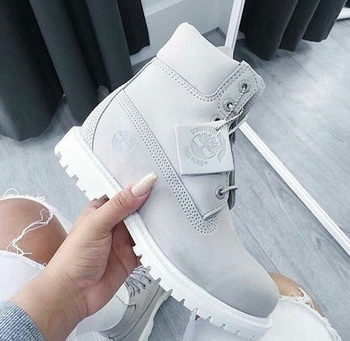 Image de timberland, grey, and shoes |
