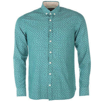 Shirts | Teal Mens Wilfred Long Sleeve Print Shirt