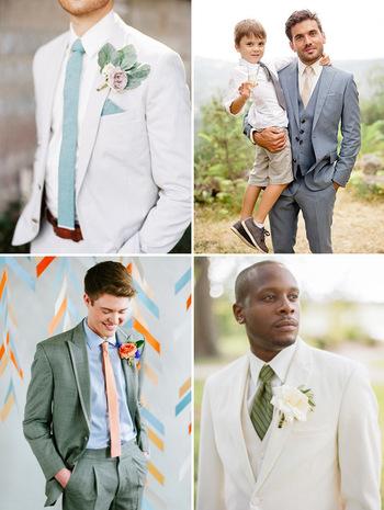 Summer Wedding Suit Ideas - Styling the Groom | OneFabDay.com Ireland