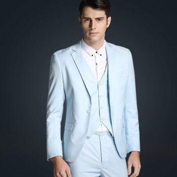 Men's Slim 3-pc Suit.