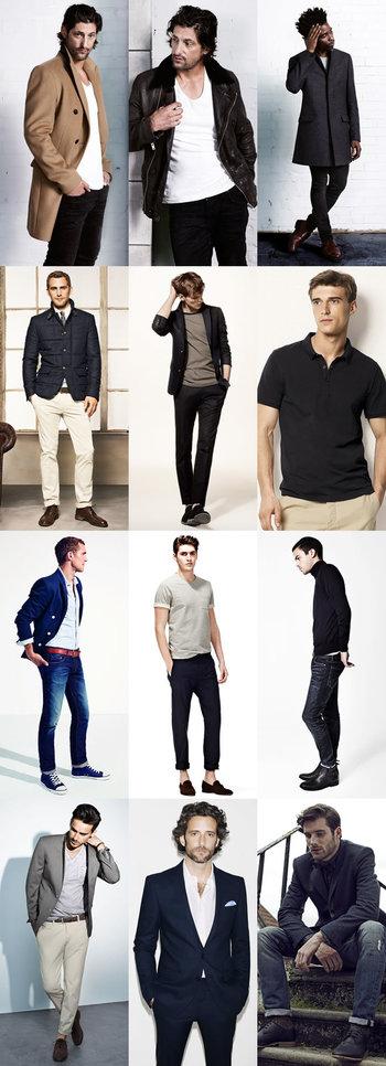 Keeping Mens Fashion Simple Lookbook